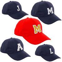 Children School Baseball Cap Boy Girl Adjustable Snapback Kids Nave Hat Letter