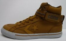 Converse Size 10 Brown Leather Hi Tops Sneakers New Mens Shoes