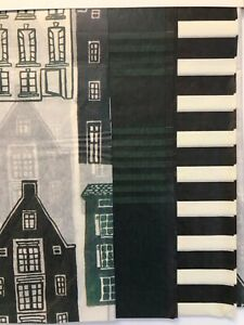 NEW 2 Packages Hearth & Hand Houses & Green/ Black Plaid Striped Tissue Paper
