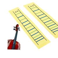 4/4 Violin Fretboard Sticker Tape Fiddle Fingerboard Chart Finger Marker 2Pcs