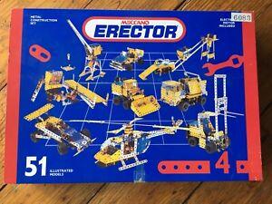 Meccano Erector Set, #4 Complete