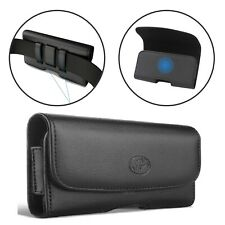 Nem Xl Cell Phone Belt Clip Leather Holder Holster Case Pouch