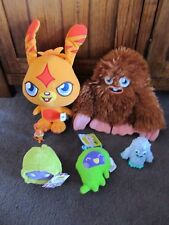 MOSHI MONSTERS...6 items, FURI, 2 ECTO softies,KATSUMA 2 figures..moshi monsters