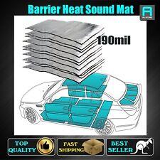 Bulk Pack 10 Sheet Adhesive Heat Sound Deadener Barrier Foam Insulation 190mil