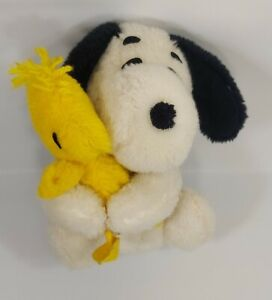 VINTAGE  Knickerbocker Snoopy & Woodstock Hugger Plush
