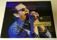 Graham Bonnet Signed Alcatrazz autograph Rainbow COA proof b