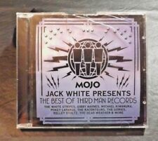MOJO PRESENTS JACK WHITE THE BEST OF THIRD MAN RECORDS CD AUGUST 2014