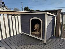 Winter Pet Dog Kennel House Xl Extra Large Dog Outdoor Big Shelter Cabin Shelter