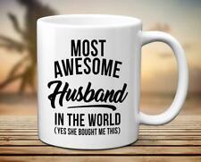 Husband Gift Dad Mug Great Mens Birthday Mug Gift For Husband Funny Coffee Mug
