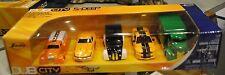 5 DUB City DieCast Cars'38 Dodge Tanker,69 Corvette,07 Shelby, 7 UP & Milk Truck