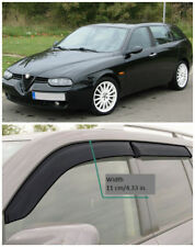 AE30500 Window Visors Guard Vent Wide Deflectors For Alfa Romeo 156 Sportwagon