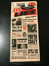 Rare Guns 'N Roses Lies EMPTY NO CD Longbox Hype Sticker MTV Rock Metal