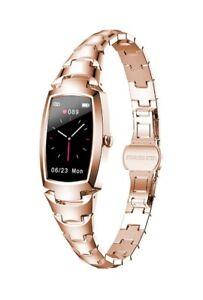 Smart Watch Women Waterproof Heart Rate Monitoring Bluetooth Fitness Brand New
