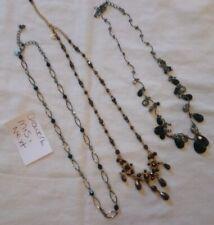 Black Tone Dark Rhinestone Necklace Nexy And Marks And Spencer M&S