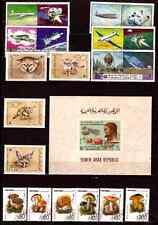 YEMEN  bloc et timbres: Félins,champignons,conquete de l'espace,divers C248