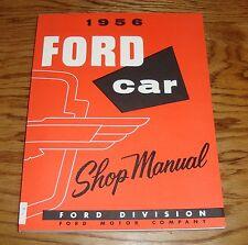 1956 Ford Shop Service Manual 56 Thunderbird Victoria