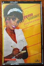 Donna Summer She works Hard For The Money Cassette Made in Australia 812265-4