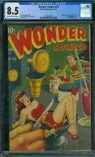 Wonder Comics 15 CGC 8.5 - OW/W Pages