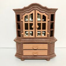 Playmobil Victorian Mansion 5300 - 5320 Dining Room China Cabinet Cups & Saucers