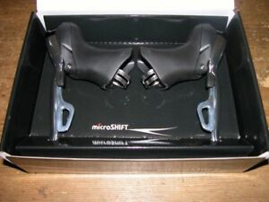 Microshift 10 speed Sti's with brake and gear cables HUGE REDUCTION