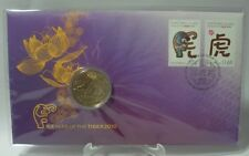 AUSTRALIA POST   2010 YEAR OF THE TIGER FIRST DAY COVER MINT ( STAND NOT INCL. )