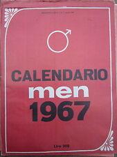 Men - Calendario 1967 nuovo! - Erotismo - Playboy - pin up- playmates-fotografia