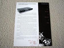 Bryston 2B-LP-Pro power amplifier brochure catalogue