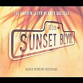 Sunset BLVD Musical CD set of 2  ANDREW LLOYD WEBBER - No scratches on discs
