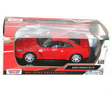 Motor Max - 2008 NISSAN GT-R (Red) - Model Scale 1:24