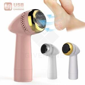 Electric Foot Files Vacuum Pedicure Tools Dead Skin Callus Remover USB Foot