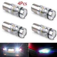 4PCS White P21W BA15s 1156 LED  Backup Reversing Light Reverse Lamp New