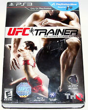 Playstation 3 Video Game - UFC Personal Trainer w/ Leg Strap (New)
