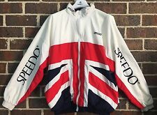 Rare SPEEDO Triathlon TriathELITE Windbreaker Jacket Size L Red White Blue
