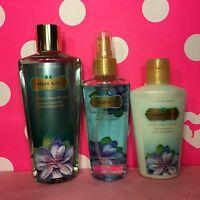 Victoria's Secret Aqua Kiss Shower Gel / Wash, Fragrance Mist & Body Lotion Lot
