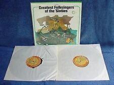 GREATEST FOLKSINGERS OF '60'S - VANGUARD V.A.- 2 LP SET
