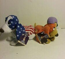 Hush Puppies Plush ~  Americana and HP Orange