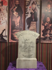Full Size Master Yale Gracey Imagineer Tombstone Haunted Mansion Disneyland 2018