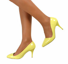 Patent Leather Court Shoes Narrow (2A) Heels for Women