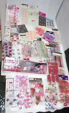 Tons of stickers various shapes sizes animals colors 100+ packs! Recollections