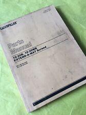 CAT CATERPILLAR 10-20B 10-20WB EXTEND-A-MAT SCREED PARTS BOOK MANUAL S/N 3EL 3FL