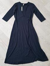 Asos Maternity dark blue V neck jersey dress size UK 10