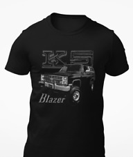 Retro Chevy K5 Blazer Black Short-Sleeve Unisex T-Shirt