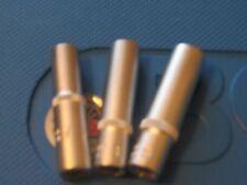 "BGS TOOLS DEEP SOCKETS 7mm  8mm and 9mm  CHROME VANADIUM  1/4"" S D  TOP QUALITY"