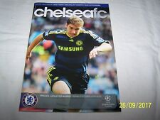 Football Prog ~ Chelsea v Athletico Madrid ~ 21/9/2009 ~ UEFA Champions League