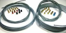Complete 3/16 & 1/4 inch 25' Rolls Brake Line Kit WITH Fittings and Spring Guard