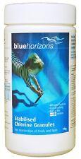 Blue Horizons 1kg Stabilised Chlorine Granules Hot Tub Spa Pool Swim Chemicals