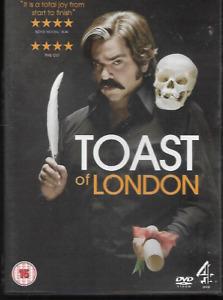 TOAST OF LONDON GENUINE R2 DVD MATT BERRY VGC