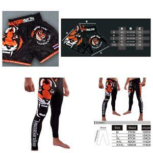 Tiger Boxing Shorts Tights Fighting Muay Thai Martial Arts Short Unbranded