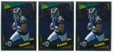 CHRIS GIVENS LOT OF (3) 2012 TOPPS CHROME 1984 VARIATION RC ROOKIE RAMS MINT