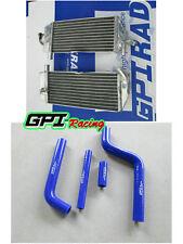 Aluminum Radiator +hose FOR Yamaha YZ125 YZ 125 2002-2004 2003 2002 2003